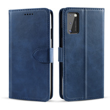 Фото - For Samsung Galaxy A41 Case Matte PU Leather and TPU Flip Stand Wallet Magnetic Buckle Cover For Samsung A41 Case Card Holder card slots wallet case flip cover pu leather for samsung galaxy a3 a300