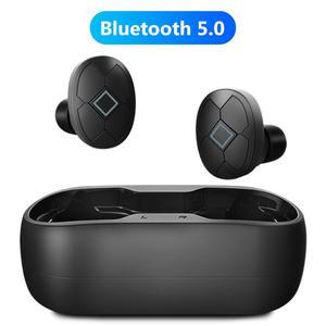 Беспроводные Bluetooth 5,0 наушники с кнопкой управления наушники TWS Bass стерео спортивные водонепроницаемые музыкальные наушники с микрофоном