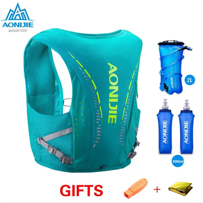 AONIJIE C942 Advanced Skin 10 L Hydration Backpack Pack Bag Vest Harness Soft Water Bladder Hiking Camping Running Marathon Race