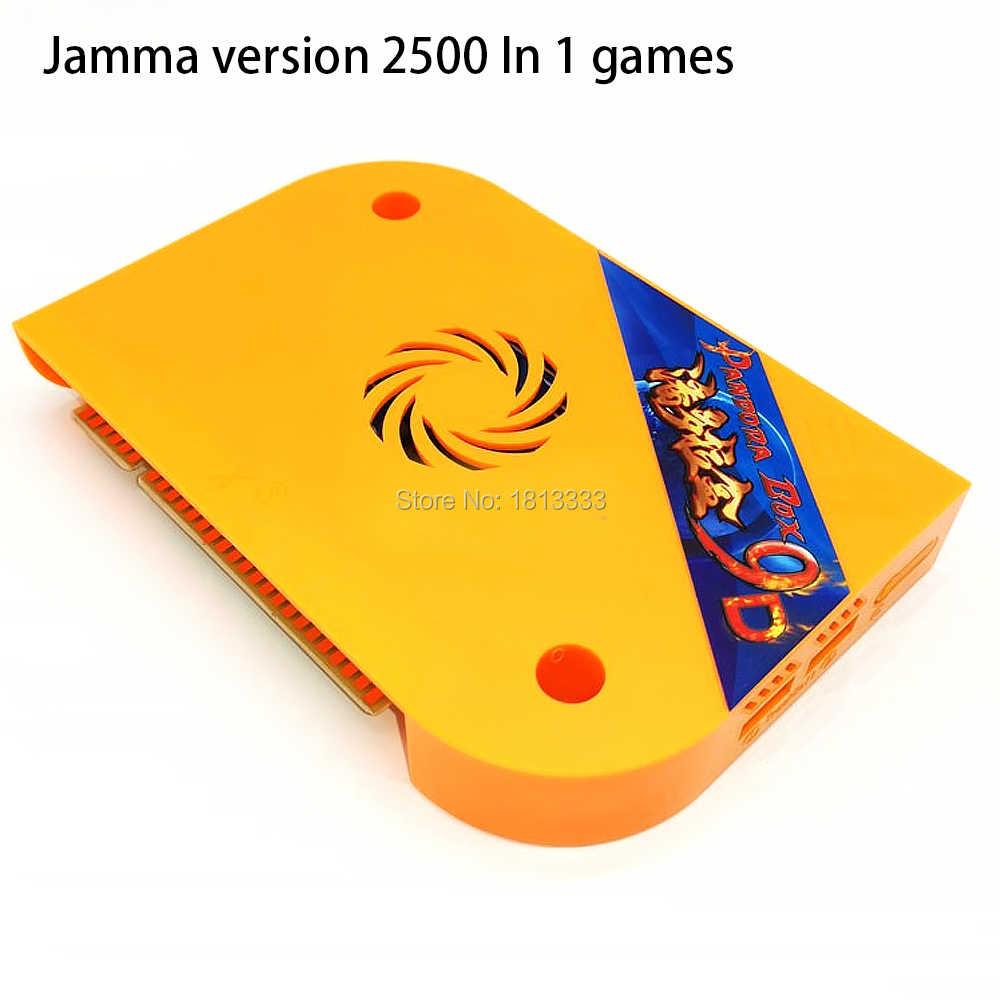 Juego de mesa de Arcade, juegos 3D, Pandora Original DX 3000 en 1, PCB 9D, juego Jamma, juego de mesa familiar, TV Box