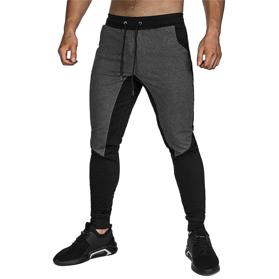 Jogging Pants Men Gym Sport Pants Fitness Joggers Cotton Bodybuilding Sweatpants Outwork Training Running Pants Men Gym Clothing