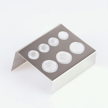 7 Holes Pigment Container Stand Tattoo Accessories Supplies Stainless Steel tattoo permanent makeup Ink Cup Holder 7 holes pigment container stand tattoo accessories supplies stainless steel tattoo permanent makeup ink cup holder