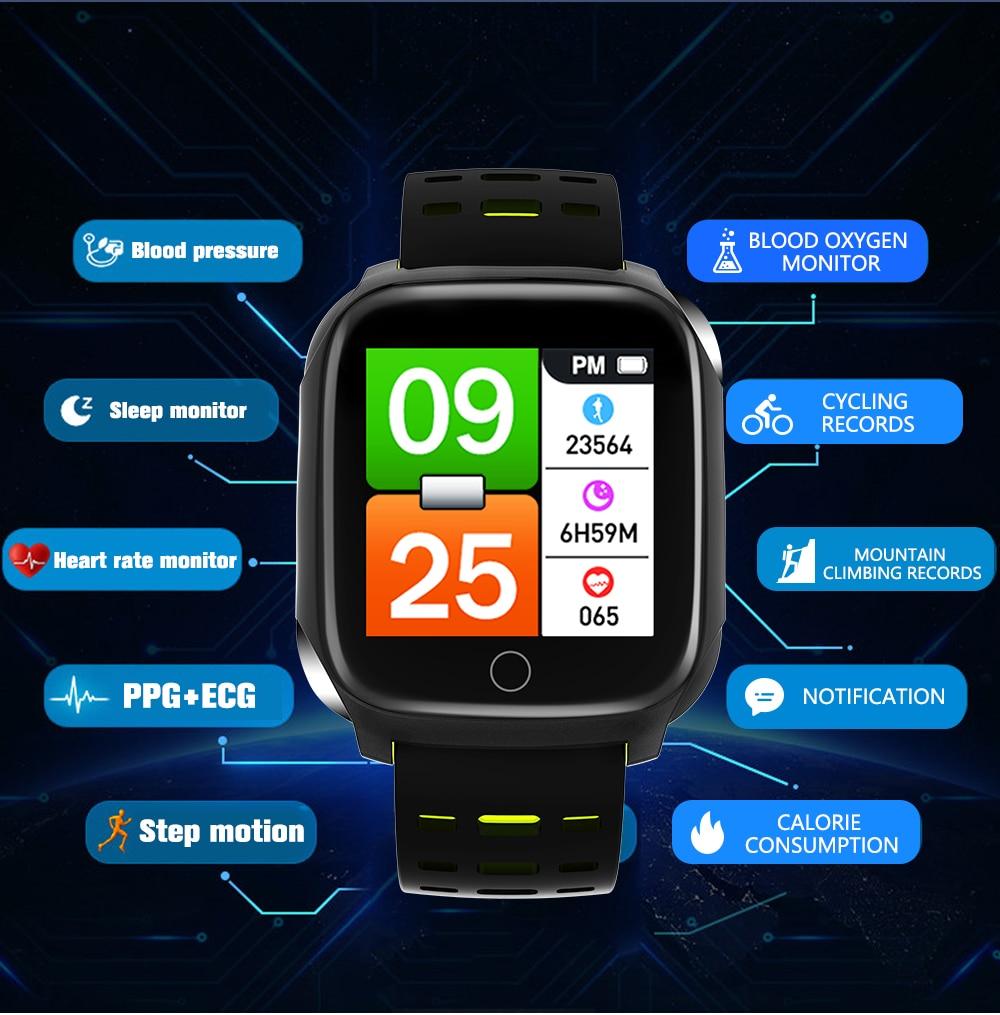pedômetro despertador relógio inteligente masculino freqüência cardíaca