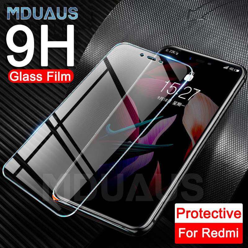 9H Tempered Glass For Xiaomi Redmi 7 7A 6A 5A Screen Protector For Redmi 6 Pro 5 Plus K20 Note 7 6 Pro Protective Glass Film