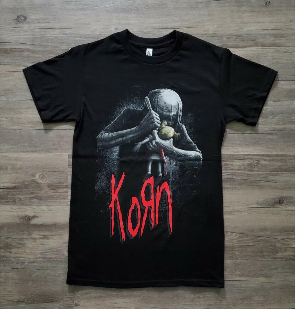 New KORN BAND ALBUM REMEMBER WHO YOU ARE Men/'s Black T-Shirt Size S to 3XL