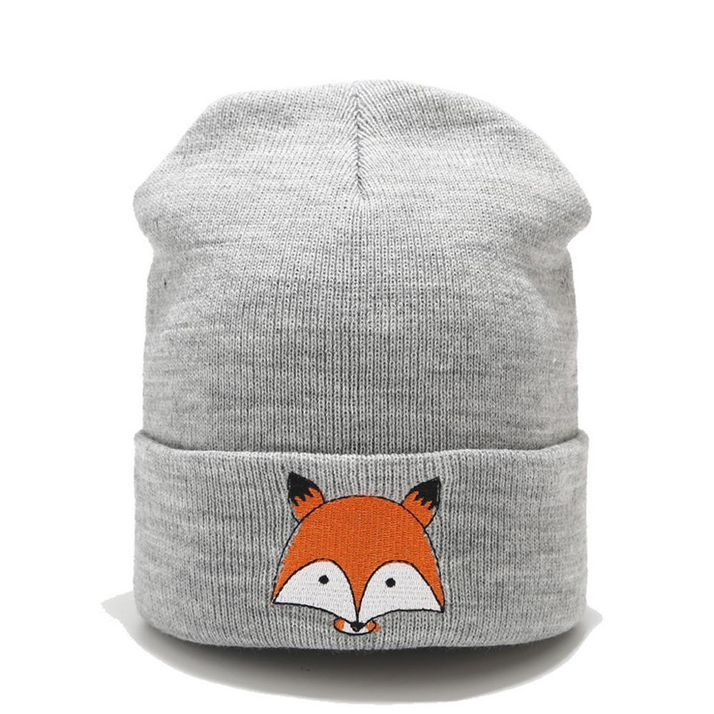 beanie   bonnet women hat cap men autumn 2019 new Cartoon animal Print streetwear Fashion Unisex hats caps gorras gorra mujer