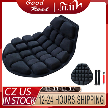 Air Pad Motorcycle Cool Seat Cover Seat Sunscreen Mat Electric Car Inflatable Decompression office Air Cushion Gift Inflatable