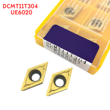 DCMT11T304 DCMT32.51 UE6020 carbide inserts Internal Turning tool DCMT 11T304 Lathe Tools Milling cutter CNC tool dcmt11t304 sm ic908 carbide inserts internal turning tool dcmt 11t304 lathe tools milling cutter cnc tool turning insert
