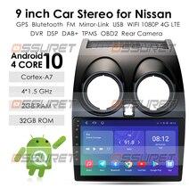 חדש! אנדרואיד 10.0 HD1080P CarPlay רכב רדיו Multimidia וידאו נגן GPS לניסן הקאשקאי 1 J10 2006 2013 2 דין אין dvd swc wifi