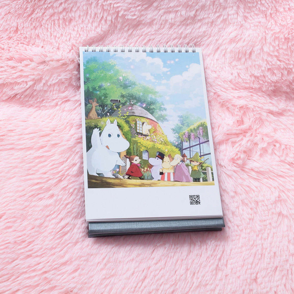 Moomin MUUMI Care Cartoon Collection Playing Card Waterproof Paper Card  Cartoon Card Cute Calendar Out Of Print Poker Hippo