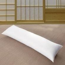 Парная белая наволочка 60*180 см из 100% полиэстера на подушку