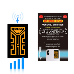 Image 2 - 2G 3G 4G Portable Phone Antenna Stickers for Camping Cell Phone Signal Enhancement Signal Amplifier Booster Easy to install