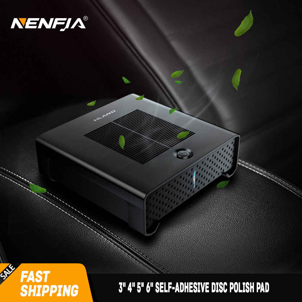 Auto Luftreiniger Lufterfrischer Tragbare USB Reiniger Auto Frische Luft Anion Ionic Reiniger Sauerstoff-bar Ozon Ionisator Innen Zubehör
