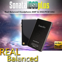 Headphone Amplifier TempoTec Sonata iDSD Plus USB Portable DAC Support WIN MacOSX Android iPHONE True Blance Dual DAC DSD HIFI