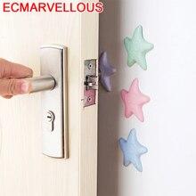 ECM# BAO мебельные аксессуары дверь за стеной Краш ручка немой анти-столкновения шкаф стол стул Защита ног ударная накладка