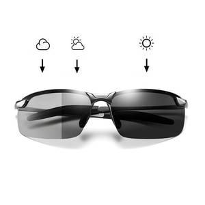 Photochromic Sunglasses Driving Change-Color Night-Vision Polarized Driver's-Eyewear
