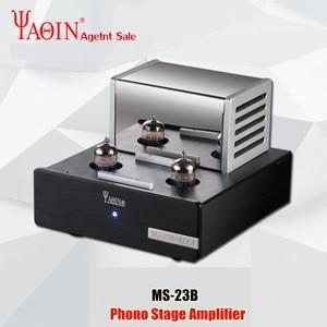 Image 1 - Preamplificatore Stereo 110 240V della metropolitana di vuoto di MS23B della piattaforma girevole di RIAA della fase MM di Phono dellamplificatore della metropolitana della valvola di YAQIN MS 23B