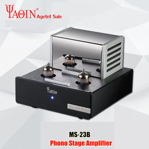 Image 1 - YAQIN MS 23B Valve Tube Amplifier Phono Stage MM RIAA Turntable HiFi Stereo MS23B Vacuum Tube Preamplifier 110 240V