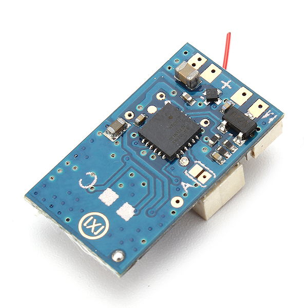 Image 5 - Mini Flysky AFHDA 2A Compatible 8CH Receiver PPM Output With 1mm JST Socket For DIY Micro Quacopter Airplane Flysky i6 i6XParts & Accessories   -