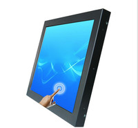 Factory supply 15 inch LCD Monitor with Touch Screen for Computer Display