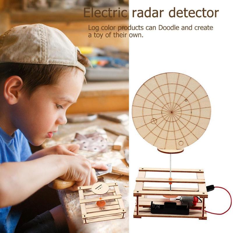 Fun DIY Radar Detector Materials Kit Develop Patience Increase Concentration Creative Scientific Experiment Model