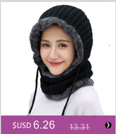 Simple girl Casual Cotton Acrylic Rushed New Fashion Female Winter wool Hats Hand Coarse Knitted Hat For Women Beanies 20