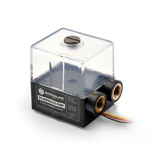 Image 1 - Насос водяного охлаждения Syscooling с резервуаром, без щеток, 12 В постоянного тока, для системы водяного охлаждения ПК
