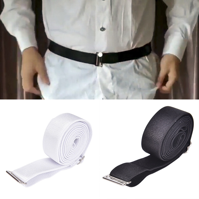 1pc Fashion Shirt Holder Adjustable Shirt Stay Best Tuck It Belt Men Shirt Hold Up