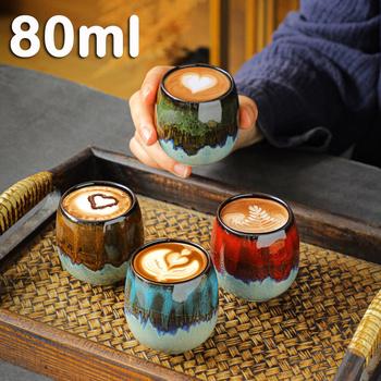 80ml ceramiczny mały kubek kawy filiżanka do mleka i herbaty kubki podróżne i kubki szklanka kreatywna porcelana kubek Caneca Criativa mleko tanie i dobre opinie CN (pochodzenie) Porcelany kubki do kawy W stylu japońskim Bez elementów Other Mugs Coffee mug 36 Na stanie creative cups