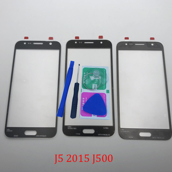 Replacement J5 LCD Touch Screen Front Glass Outer Lens For Samsung Galaxy J5 2015 J500F J500FN J500FZ + Tools image