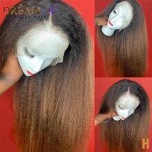 Эффектом деграде (переход от темного к кудрявые прямые Синтетические волосы на кружеве парики из натуральных волос на грубой в итальянском ...