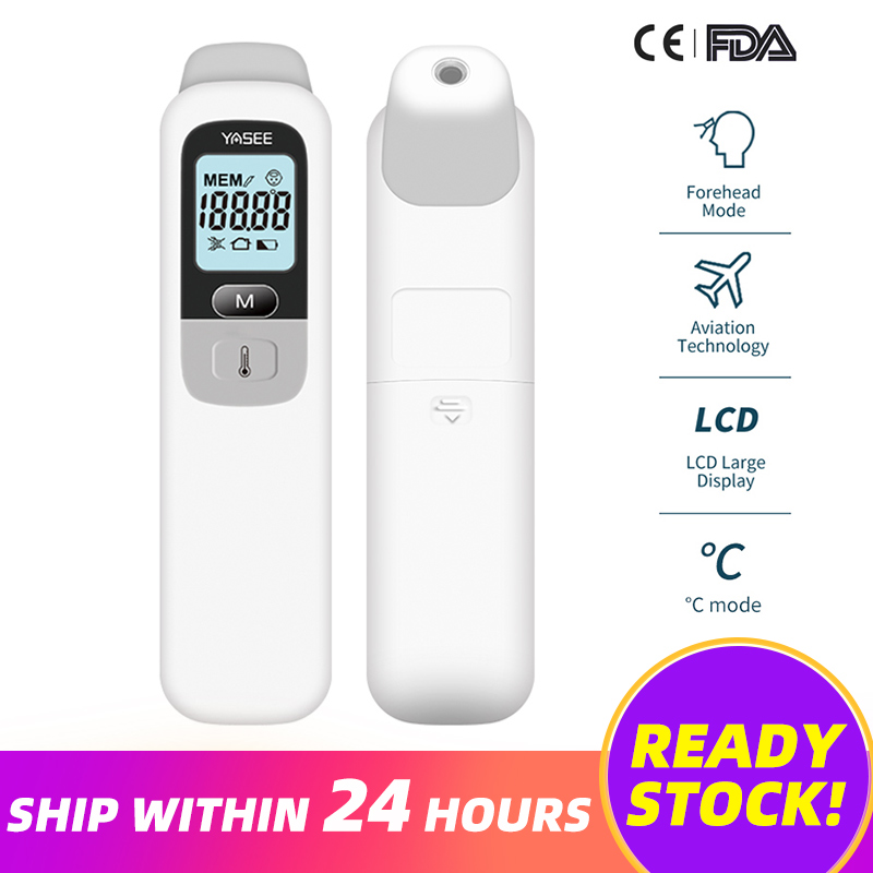 Baby Forehead Ear Thermometer Fever Thermometer Digital Infrared Thermometer Body Non-contact Thermometer for Children Adult