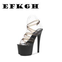 Сандалии женские на платформе пикантная Свадебная обувь очень