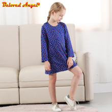 Brand New Toddler Girls Dress Autumn Winter Kids Long Sleeve Dresses for Girl Costume Cotton Princess Dress Baby Girl Clothes недорого