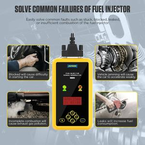 Image 5 - AUTOOL CT60 Auto Fuel Injector Tester, Fuel Injector Flush Tester  Automotive Goods CT150 CT200 12V Pulse Pressure Boost Tester