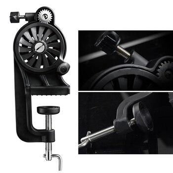 Portable Fishing Line Winder Spooler Machine Multi-Function Fast Spin Reel Tools FK88