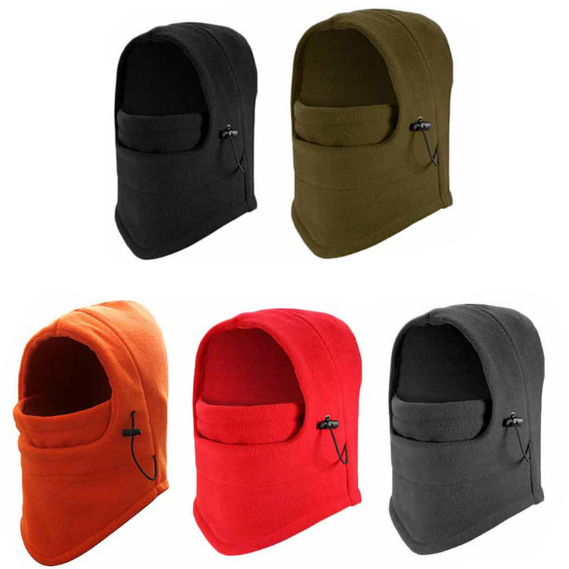 1pc Winter Warm Patchwork Breathable Balaclava Face Mouth Mask Man Women Unisex Outdoor Cycling Mask Black Mask Mouth Cover