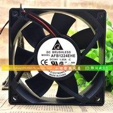 AFB1224EHE 24V 1.05A 12038 12 см защиты электродвигателя Вентилятор охлаждения