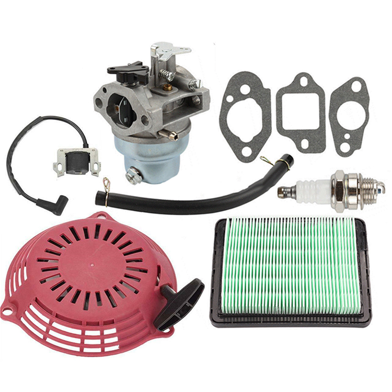 Lawn Mower Air Filter Spark Plug Carburetor Gasket Parts Tubing For Honda GCV160 GCV135 Kit