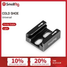 "SmallRig Cold Shoe Adapter with Two Secure Bending Compatible For Universal Camera Accessories with 1/4"" Threads   1960"