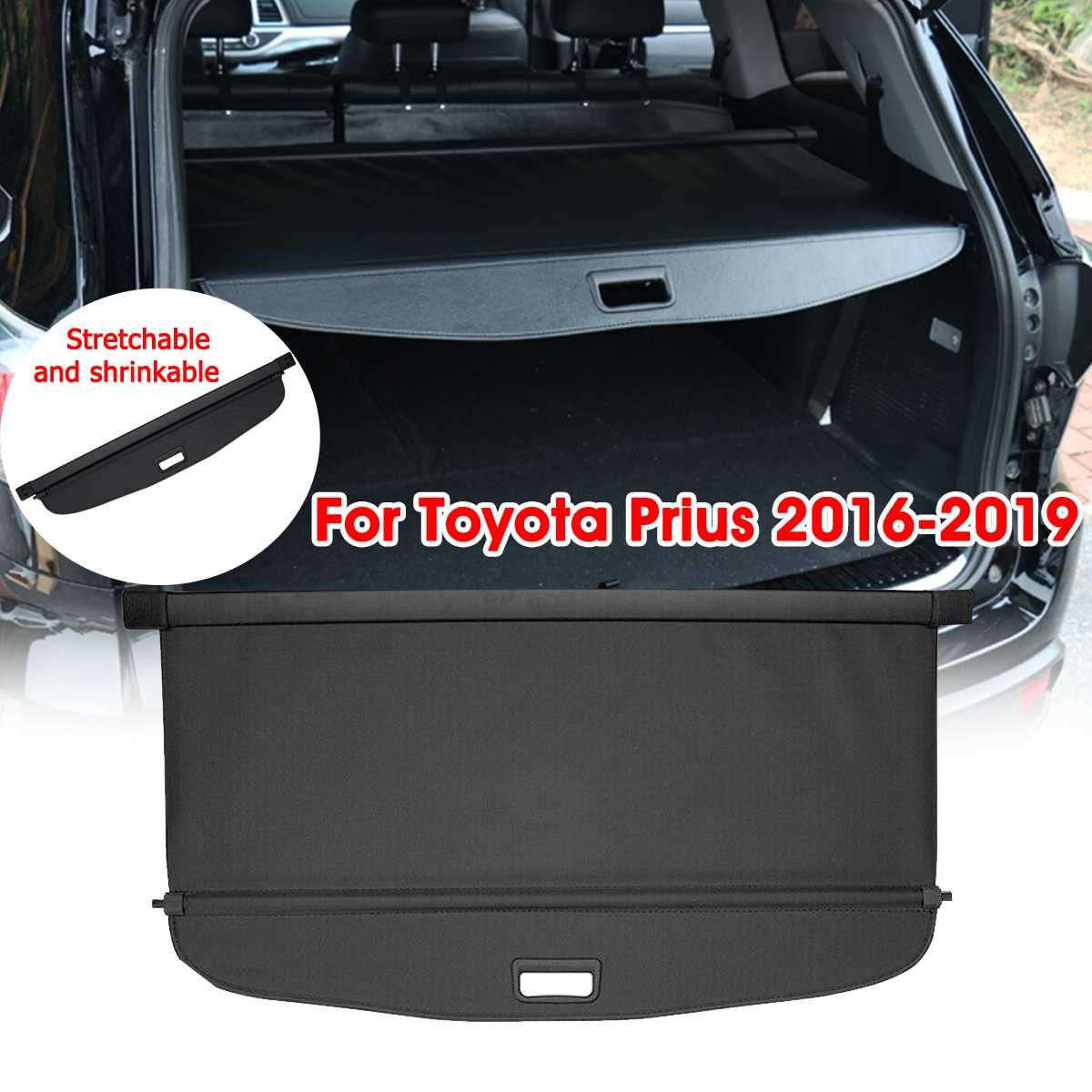 Audew Auto Stamm Schatten Hinten Sicherheit Fracht Abdeckung Aluminium Auto Hinten Cargo Bildschirm Sicherheit Schild Schatten Für Toyota Prius 2016 -2019