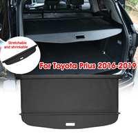 Audew Car Trunk Shade Rear Security Cargo Cover Aluminum Auto Rear Cargo Screen Security Shield Shade For Toyota Prius 2016 2019