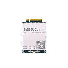 EM160 EM160RGLAU-M21-SGADA EM160R-GL LTE Cat16 moduł M.2 DL 5x agregacja nośna 256QAM wbudowany odbiornik eSIM GNSS MIMO