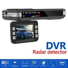 2 em 1 câmera do painel do carro inglês russo detector de radar de voz x k ct la mgo3