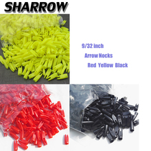 50/100pcs 9/32inch Archery Arrow Nock Wood ID7.2mm Tails Plastic Hunting Shooting Bow And Accessory