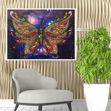 """Алмазная живопись 5d """"сделай сам"""" вышивка в виде бабочки"""