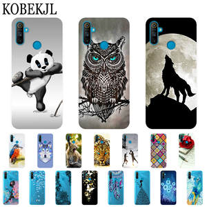 Realme C3 Case Soft TPU Cartoon Silicone Cover Phone Case For OPPO Realme C3 C 3 2020 RealmeC3 Case Cover Protective