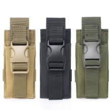 USA Shipping Military Molle Pouch Tactical Single Pistol Magazine Bags Sheath Airsoft Hunting Ammo Camo Bag Yq