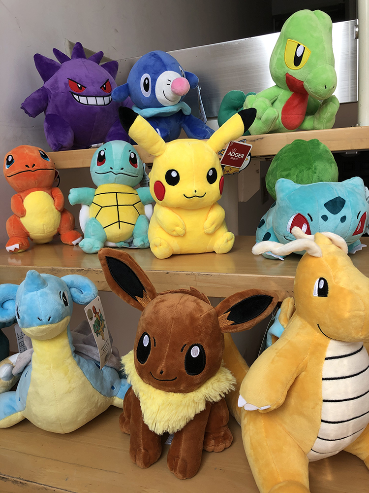 Plush-Doll Stuffed-Toy Pikachued Lapras-Eevee Bulbasaur Peluche Squirtle Pokemoned Anime