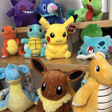 Plush-Doll Stuffed-Toy Pikachued Gift Lapras-Eevee Bulbasaur Peluche Pokemoned Anime